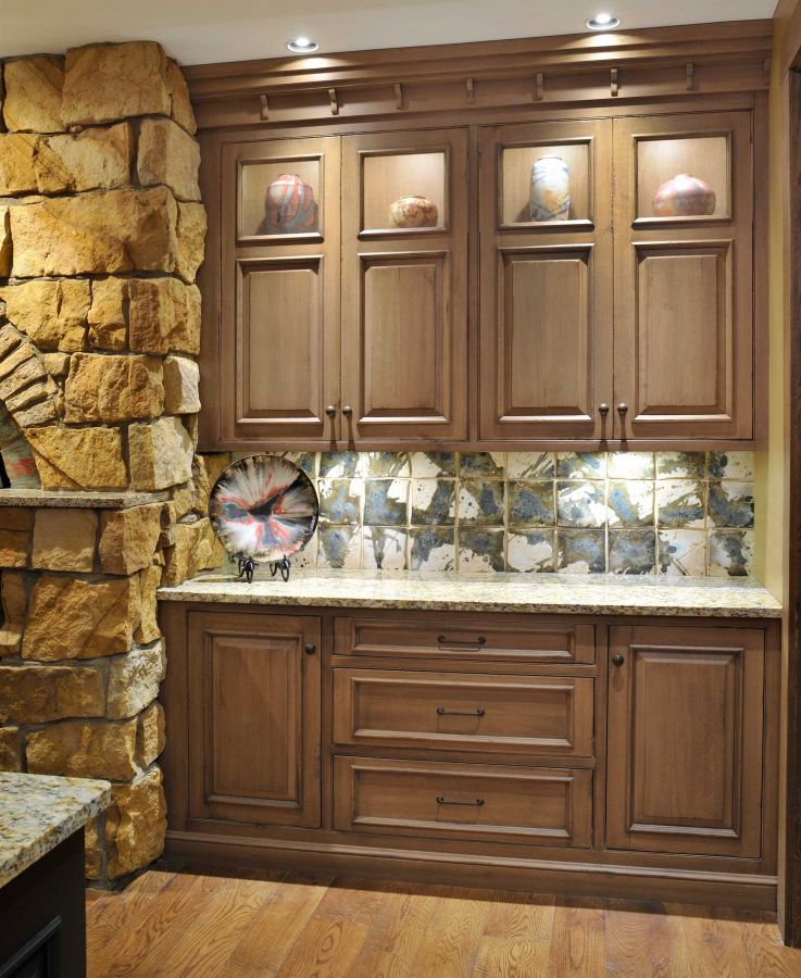 Kitchen Tile Work: Tom Radca Gallery Details