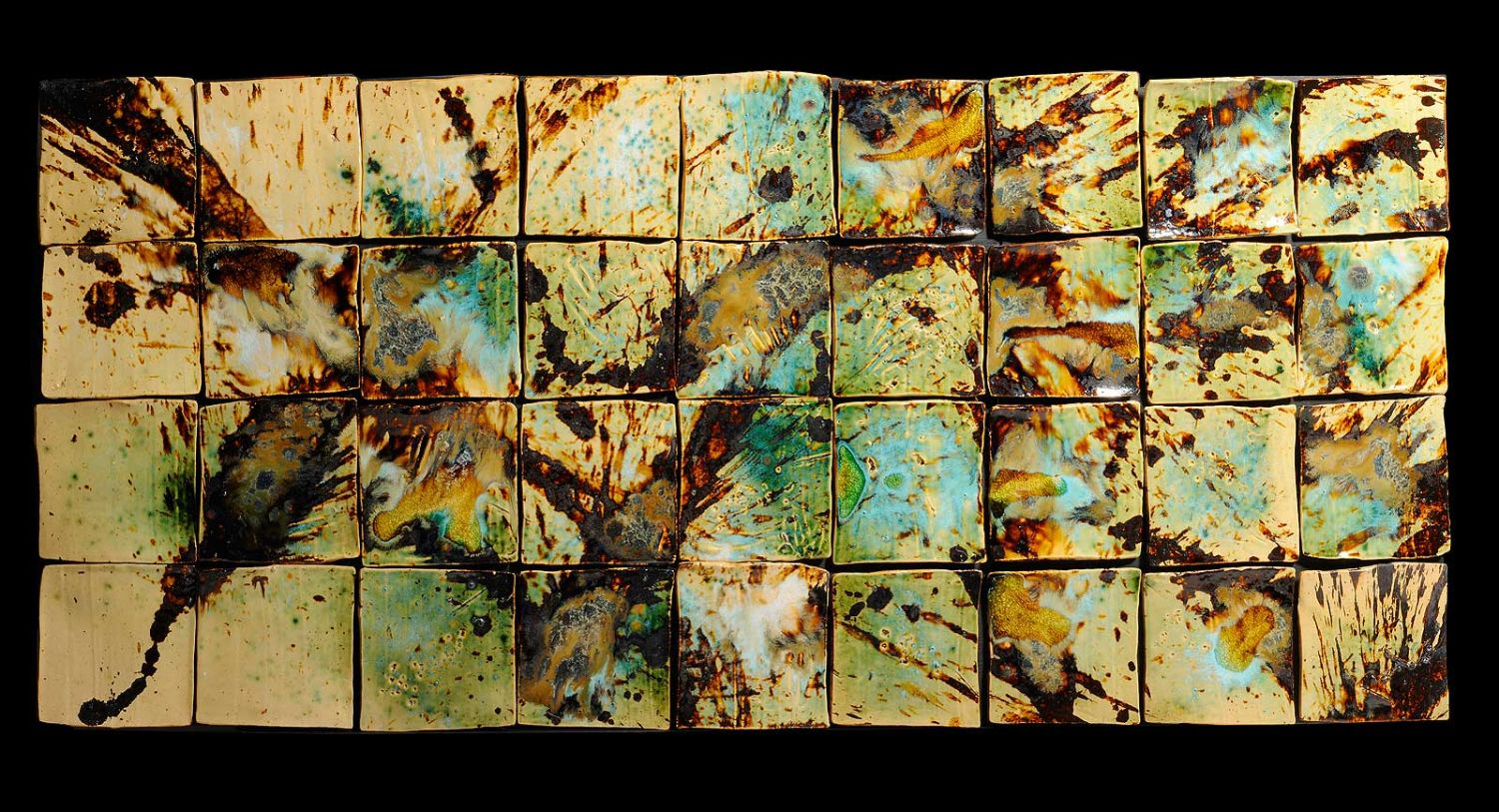 Ceramic art tile art tile gallery new electric color pallette dailygadgetfo Images