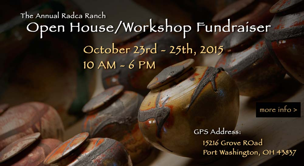 Radca Ranch Open House Workshop Fundraiser